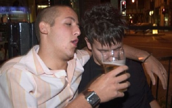 Is there a way to pepper-spray drunken troublemakers effectively?